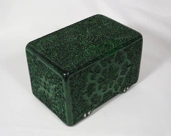 Tempra-Structure Ghost-Green deck-box