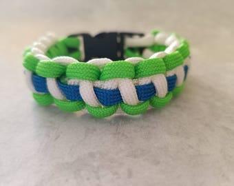 Multicolor Paracord Bracelet