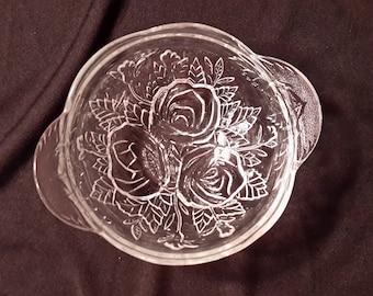 Malaysia glass salad bowl