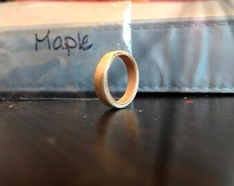 Maple Bentwood Ring
