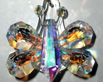 Butterfly Crystal Prism