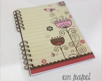 Flower A5 Notebook