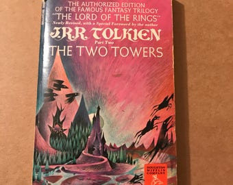 1965- Two Towers by JRR Tolkien