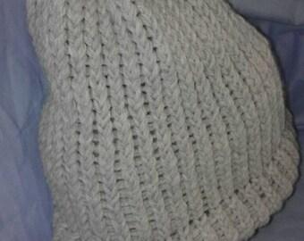 winter loom hat
