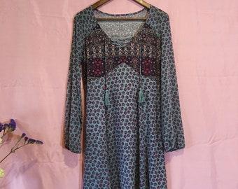 Boho corset dress