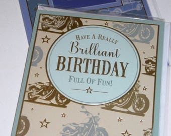 12 cards BIRTHDAY CARDS, JUST 35p, 2 designs x 6, 12 cards - We also have birthday cards / christmas cards / thank you cards