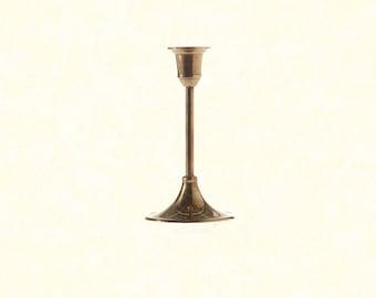 "Antique Candlestick 3.25""x6.25"""
