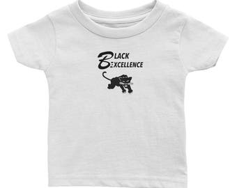 Black Excellence Black Panther Infant Tee