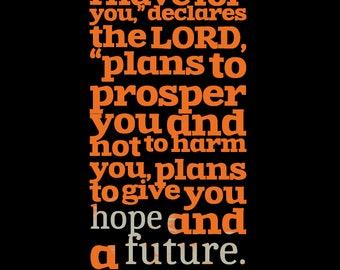 Bible Verse  Jeremiah 29:11
