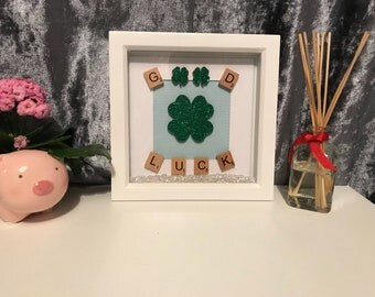 Good Luck Gift - Good Luck Charm - Four Leaf Clover