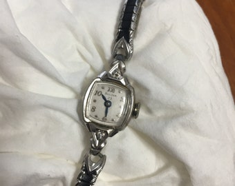 Lovely Vintage Bulova L9 watch 23jewels 10Kt. Rolled Gold