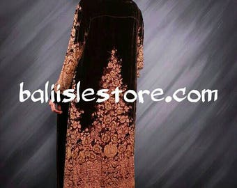 DeLuxe Vintage Velvet&Silk Beaded Stevie Nicks Style Boho Kimono