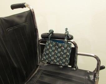 Wheelchair tote that ties (#682)  )
