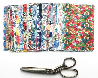 Liberty Tana Lawn Charm Pack 25 Pieces