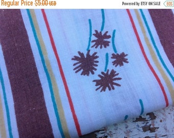 CRAZY SALE- Vintage Floral Fabric-  Reclaimed Vintage Bed Linens Fabric