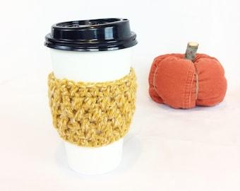 Crochet Coffee Cozy, Coffee Sleeve, Tea Cozy, Starbucks Reusable Coffee Sleeve, Popcorn