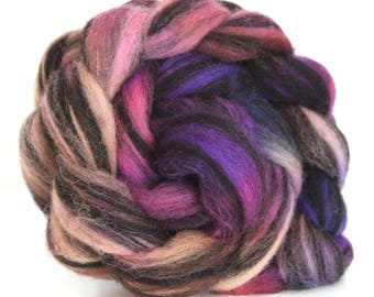 Jacob Humbug Kettle Dyed Wool Top JHT26  100g - 3.5oz