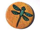 Dragonfly Pin or Dragon F...