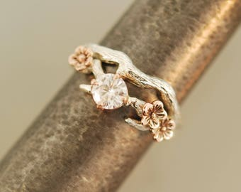 For mhairston Cherry Blossom ring set