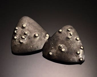 Triangle Earrings - One of A Kind