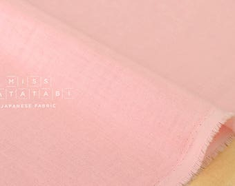 Japanese Fabric Kokka Oeko-Tex solid double gauze - colour 4 - 50cm