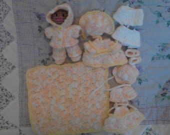 4in Baby Doll Play Set 2