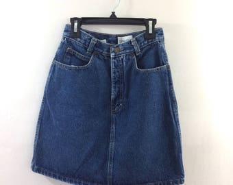 Calvin Klein High Waisted Denim Skirt