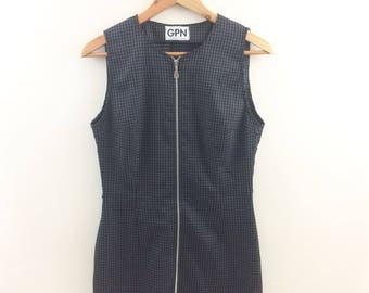Mod Mini Zipper Dress