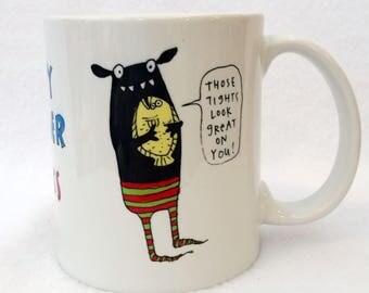 Lucky Flounder  - monster mug