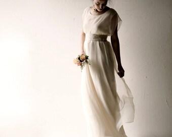 Boho Wedding dress, Bohemian wedding dress, Pagan wedding dress, Casual wedding dress, Alternative wedding dress, Simple wedding dress