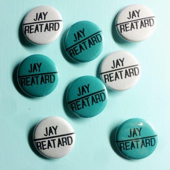 "Jay Reatard 1.25"" Pin"