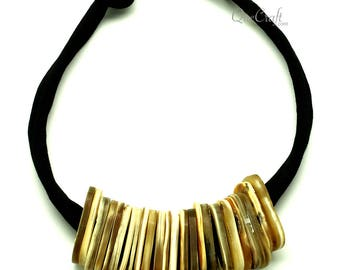 Horn String Necklace - Q12820