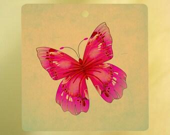 Vintage Butterfly Air Freshener