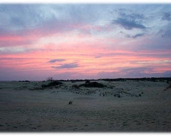 Sunset over Jockey's Ridge