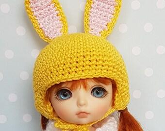 Lati/PukiFee Hat Yellow Bunny