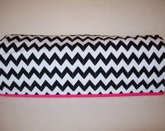 Cricut Dust Cover / Expression / Brother Scan-N-Cut Cover / Design n Cut / Cricut Machine Cutter Protector / Quilted / Black & White Chevron