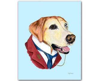 Labrador Retriever print 5x7