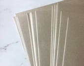5 x 7 rose gold envelopes - A7 envelopes in metallic taupe gold for 5 x 7 photos and cards with a rose gold look - Premium envelope