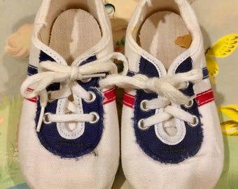 70s Baby Tennis Shoes
