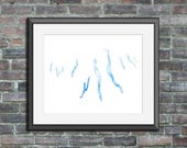 Finger Lakes watercolor t...
