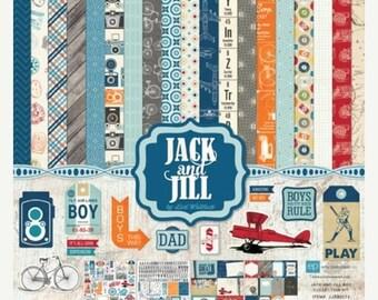 ON SALE Echo Park Jack & Jill Boy 6x6 Paper Pad