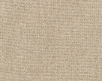 Robert Kaufman Fabric, Essex Yarn Dyed Metallic, E105-1268 Oyster, 50% Linen, #180
