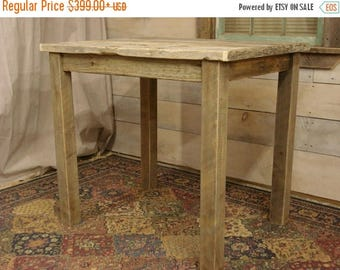 "ON SALE Driftwood Table (40"" x 30"" x 30"" or 36""H)"