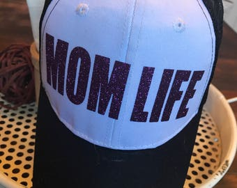 Mom Life Trucker Hat