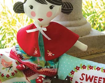Lil' Red Riding Hood Doll Kit by Stacy Iest Hsu for Moda Fabrics SKU# 20500 11