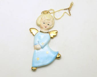 Vintage Christmas Ornament Angel Ornament Yona Original