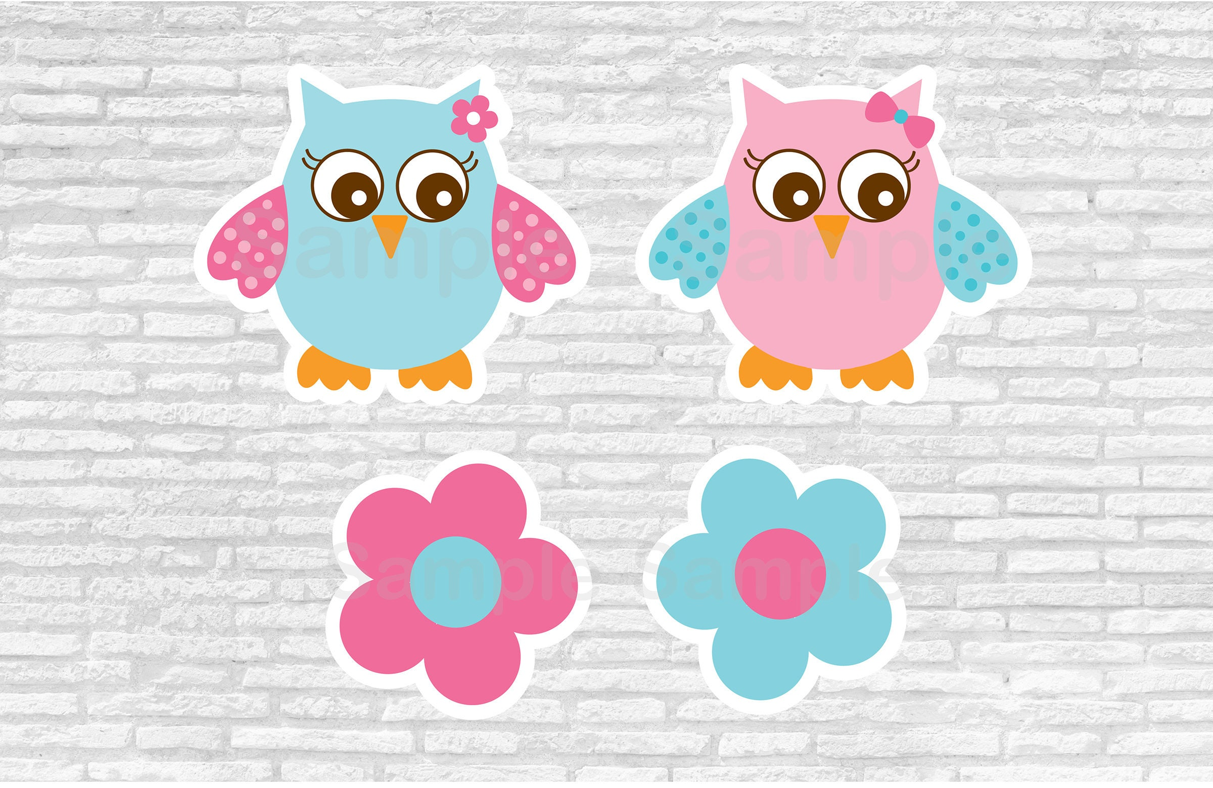pink owl baby shower cut outs owl baby shower owl baby