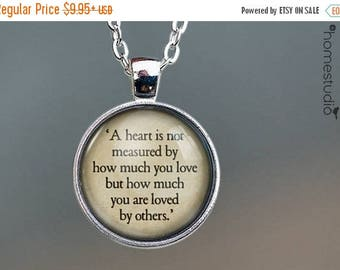ON SALE - Wizard of Oz Quote jewelry. Necklace, Pendant or Keychain Key Ring. Perfect Gift Present. Glass dome metal charm by HomeStudio