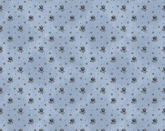 ON SALE Emily Hayes for Penny Rose Something Blue Floral Blue