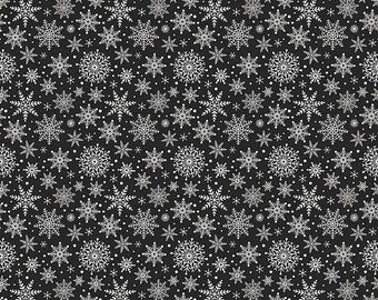 20EXTRA 20% OFF Comfort and Joy By Dani Mogstad for My Mind's Eye - Black Snowflakes
